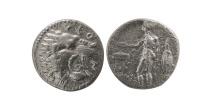 Ancient Coins - SICILY, Leontini. Circa 435-425 BC. AR Litra.
