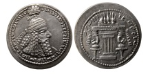 Ancient Coins - SASANIAN KINGS. Ardashir I. AD 224-240 AD. AR Drachm. Lovely strike. Rare.