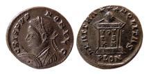 Ancient Coins - ROMAN EMPIRE. Crispus, as Caesar. AD 323-324 Æ Follis. Lovely example.