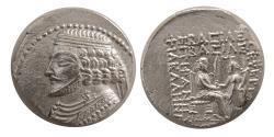 Ancient Coins - KINGS of PARTHIA. Phraates IV 38/7-2 BC. AR Tetradrachm.  Seleukeia on the Tigris mint.