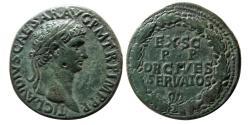 Ancient Coins - ROMAN EMPIRE. Claudius. AD. 41-54. Æ Sestertius. Lovely strike.