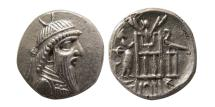 Ancient Coins - KINGS OF PERSIS; Vadfradad (Autophradates) IV. 1st century BC. Fourree Drachm.
