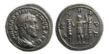 Ancient Coins - ROMAN EMPIRE. Maximinus I. AD. 235–238. AR Denarius. Lovely strike.