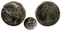 Ancient Coins - MYSIA, Pergamon. 133-27 BC. AE 18mm