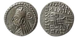 Ancient Coins - KINGS of PARTHIA. Osroes II. Circa AD 190-208. AR Drachm