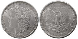 World Coins - UNITED STATES. 1889. Morgan Dollar. Choice UNC.