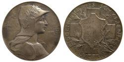 World Coins - SWITZERLAND. Shooting Festival Medal. ca. 20th. Century. Silver Medallion.
