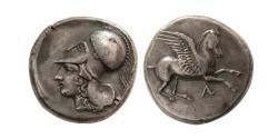 Ancient Coins - EPEIROS, Ambrakia. Circa 360-338 BC. AR Stater.