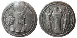Ancient Coins - SASANIAN KINGS. Shahpur I. AD. 241-272. AR Drachm.