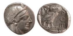 Ancient Coins - PCW-G6541-ATTICA, Athens. 440-404 BC. Silver Tetradrachm. Lovely Style.