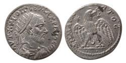 Ancient Coins - MESOPOTAMIA; Carrhae. Macrinus. AD. 217-218 AR Tetradrachm. FDC. Lustrous.