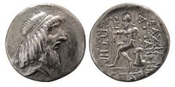 Ancient Coins - KINGDOM of CHARACENE. Attambelos I. 48/7-24 BC. AR Tetradrachm.