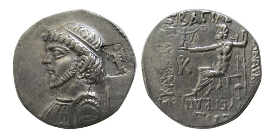 Ancient Coins - KINGS of ELYMIAS. Kamnaskires IV. Ca. 63/2-54/3 BC. AR Tetradrachm.