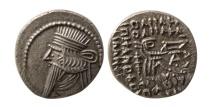 KINGS OF PARTHIA. Pakoros I. Circa AD. 78-120. AR Drachm.