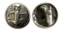 Ancient Coins - ACHAEMENID EMPIRE. Time of Artaxerxes II to Artaxerxes III. Ca. 375-340 BC. AR Siglos.