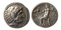 Ancient Coins - CELTIC, Danube Region. Imitating Philip III of Macedon. Circa 2nd. Century BC. AR Tetradrachm . Rare type.