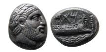 Ancient Coins - PHOENICIA. Arados. Circa 350-332 BC. AR Stater. Rare.