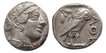 Ancient Coins - ATTICA, Athens. 440-404 BC. AR Tetradrachm. Choice FDC.