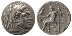 Ancient Coins - KINGS of MACEDON. Alexander III. 336-323 BC. AR Drachm. Miletus mint. Lovely Example.