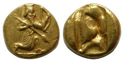 Ancient Coins - ACHAEMENID EMPIRE. temp. Xerxes II to Artaxerxes II. 420-375 BC. AV Daric. Ex Hunter Collection