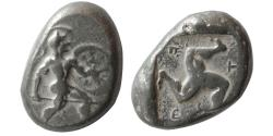 Ancient Coins - PAMPHYLIA, Aspendos. mid 5th. Century BC. AR Stater.