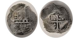 World Coins - SPICE ISLANDS SHIPWRECK. Ca. 1630. AR 8 Reales. Minted in Mexico City during the reign of Philip IV of Spain.