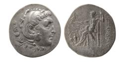 Ancient Coins - MACEDON KINGDOM. Alexander III. 336-323 BC. Silver Tetradrachm. Temnos, 188-170 BC.