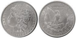 World Coins - UNITED STATES. 1897. Morgan Dollar. Choice UNC.