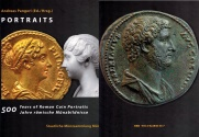 Ancient Coins - ROMAN COINS PORTRAITS. Hard Cover book by Dr. Andreas Pangerl. 2017, Munich. 444 pages. German Text