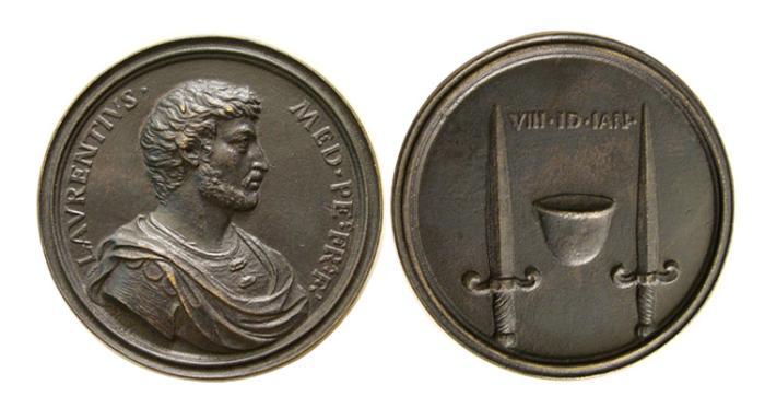 World Coins - ITALY. Florence. Antonio Selvi-1679-1753. AE cast Medal