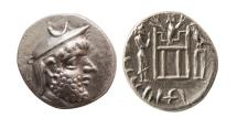 Ancient Coins - KINGS OF PERSIS; Darev (Darios) I. 2nd century BC. AR Drachm.