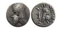 Ancient Coins - KINGS OF PERSIS; Napad (Kapat). 1st century AD. AR Drachm.