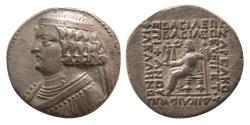 Ancient Coins - PARTHIAN KINGDOM. Orodes II. Ca. 57-38 BC. Silver Tetradrachm.