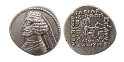 Ancient Coins - KINGS of PARTHIA. Orodes II. 57-38 BC. AR Drachm. Mithradatkart mint.
