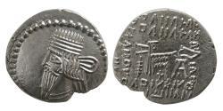 Ancient Coins - PARTHIAN EMPIRE. Pacorus I. (Ca. AD 78-120). AR Drachm. Ecbatana mint.