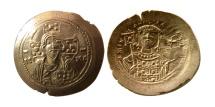 BYZANTINE EMPIRE. Michael VII Ducas. 1071-1078. AV Histamenon Nomisma. Choice FDC. Lustrous.