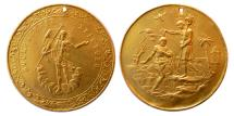 World Coins - RUSSIA. Ca. 19th Century. Easter Gold Medal.