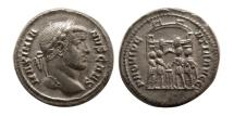 Ancient Coins - ROMAN EMPIRE. Maximianus. 286-305 AD. AR Argenteus.