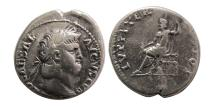 Ancient Coins - ROMAN EMPIRE. Nero. 54-68 AD. AR Denarius.