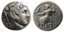 Ancient Coins - KINGS of MACEDON. Alexander III. 336-323 BC. AR Tetradrachm. Amphipolis mint.