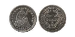 World Coins - UNITED STATES. 1853-O Half Dime.