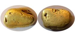 Ancient Coins - CALIFORNIA GOLD NUGGET (11.10 gr). Natural beauty from The California's Feather River.
