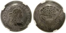 World Coins - UNITED STATES. 1799. Silver Dollar. NGC-VF30.