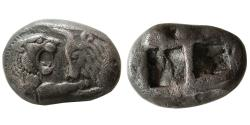 Ancient Coins - KINGS of LYDIA. Kroisos. Circa 561-546 BC. AR Stater. Sardes mint.