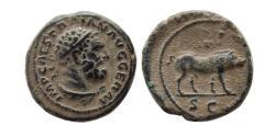 Ancient Coins - ROMAN EMPIRE. Trajan. AD 98-117. Æ Quadrans.