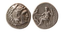 Ancient Coins - KINGS of THRACE. Lysimachos. 305-281 BC. Silver Drachm. Magnesia ad Maeandrum mint. Scarce.