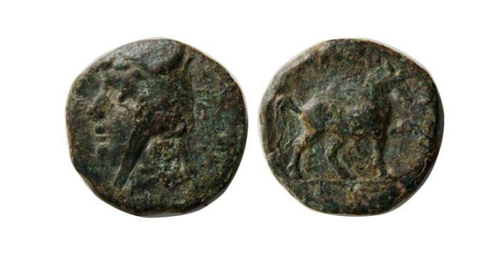 Ancient Coins - PARTHIAN EMPIRE. Phriapatios. 185-170 BC. AE Chalkous. Rare.