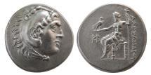 Ancient Coins - KINGS of MACEDON, Alexander III. 336-323 BC. AR Tetradrachm. Byblos mint. Nice style.