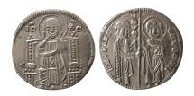 World Coins - ITALY, Venice. Giovanni Soranzo. 1312-1328. AR Grosso.