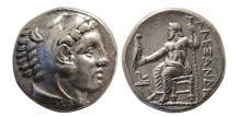 Ancient Coins - KINGS of MACEDON. Alexander III. 336-323 BC. AR Tetradrachm. Amphipolis, struck under Antipater,